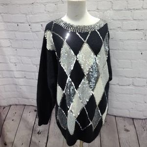 I.B. Diffusion Sequence Vintage cable knitted